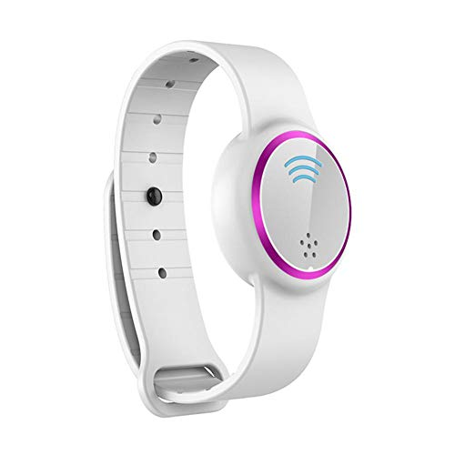 Insect Repellent And Insect Repellent Bracelet Ultrasonic Mosquito Repellent Wristband Child Adult,White-purple