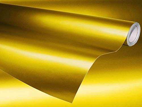 AUTOMAX izumi マットクローム (大) 黄金 幅152cm×100cm~ イエローゴールド 艶消しメッキフィルム