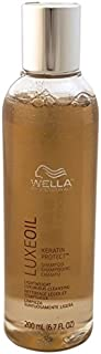 Wella Luxe Oil Keratin Protect Shampoo for Unisex, 6.7 Ounce