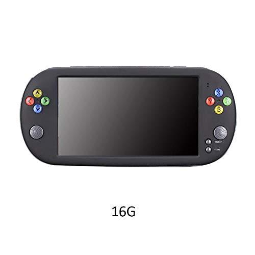 HEIRAO Consola de Juegos de Pantalla Retro de 7 Pulgadas HD, Compatible con CPS/GBA/SFC/MD/FC/GB/GBC, 8GB o 10GB