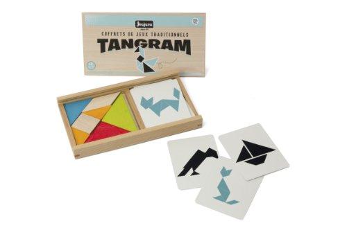 Jeu de Tangram en bois