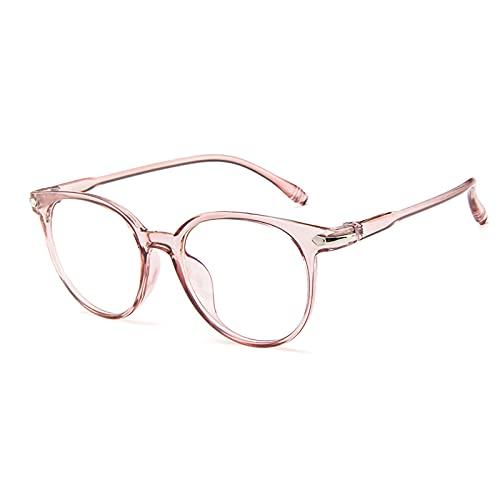 Fudeer Gafas De Lectura Unisex Fotocromáticas Gafas De Sol Multifocales Progresivas Ligeras Clásicas Retro De Transición Gafas con Lector De Ojos,Rosado,+3.00
