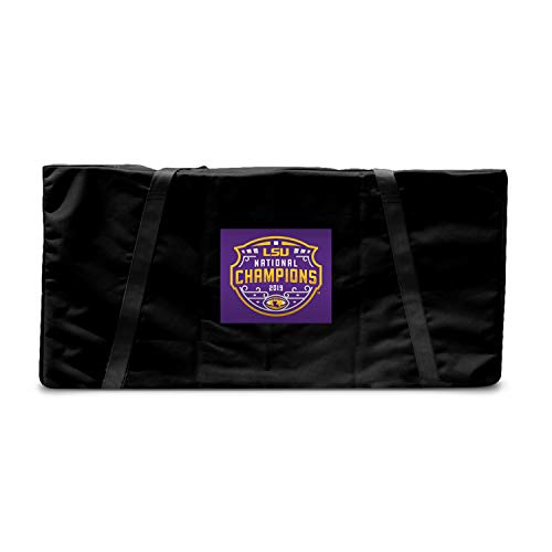Victory Tailgate Louisiana State Tigers 2019 College Football Champions Regulation Cornhole Storage Carrying Case