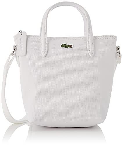 Lacoste NF2609PO  bolso cruzado de compras xs para Mujer  Blanc  Taille unique