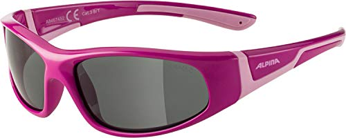 Alpina Unisex Jugend FLEXXY JUNIOR C Sportbrille, pink-Rose, one Size