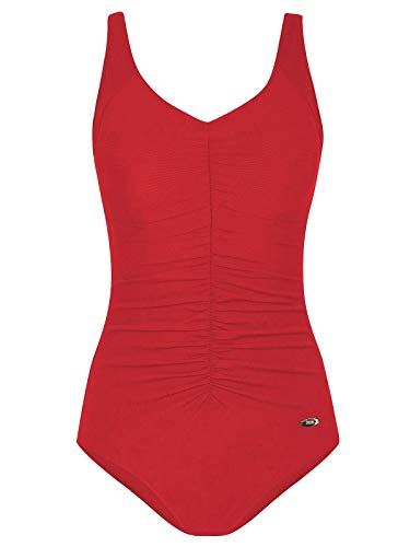 Susa Prothesen Badeanzug Care Solid Range 4308 Gr. 42 F in rot