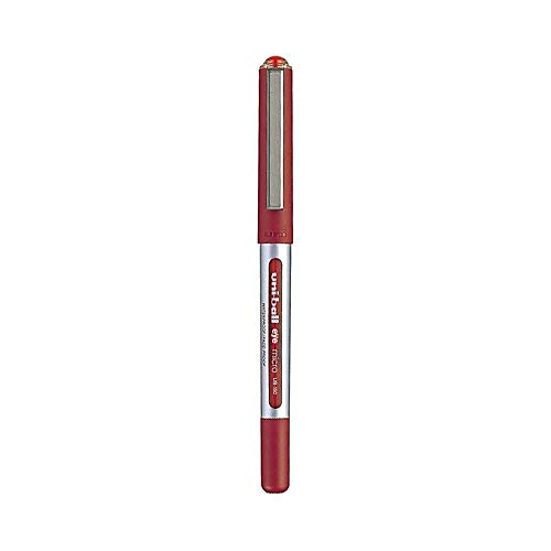 Uni-ball Eye Micro Ub-150 Gel Ink Pen - 0.5 Mm - 10 Pcs - Uni Mitsubishi Pencil (Red) Photo #3