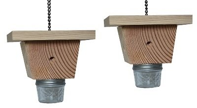 Mac's One of The Best Carpenter Bee Traps, Set of 2