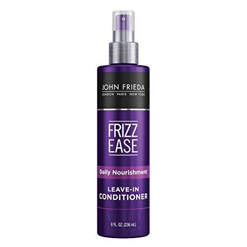 John Frieda Frizz Ease Daily Nourishment Conditioner for Frizz-prone Hair with Vitamin A, C, and E, Black/Anthracite/Orange, 236 ml