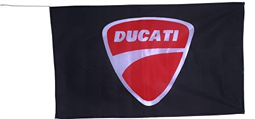 Cyn Flags Ducati Fahne Flagge 2.5x5 ft 150 x 90 cm