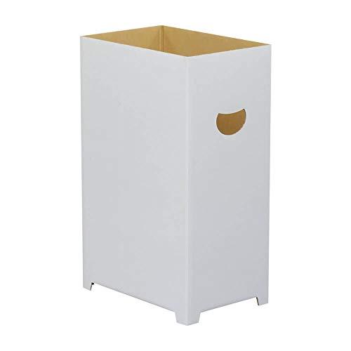 ダンボる ダンボール ゴミ箱 15個セット 45リットル袋対応 白 無地 段ボール箱 DG04-0015
