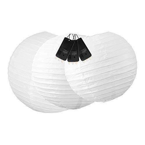 Skylantern Original 1797 Boule Papier avec 3 LEDs Blanc