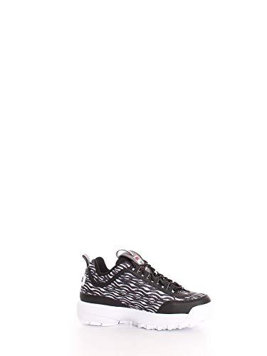 Luxury Fashion | Fila Dames 10108639YU Zwart Synthetische Vezels Sneakers | Lente-zomer 20