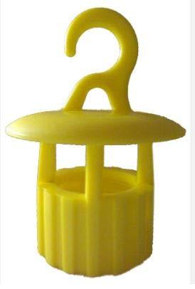 ZAMBONIN Genialcap BT100 Trappola per Insetti da Usare con Le Bottiglie in plastica Confezione da 9 Pezzi