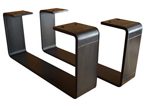 日本製 アイアン 鉄 テーブル 脚 レッグ 黒 鉄 DIY ローテーブル用 naritabase 220-100-44-1