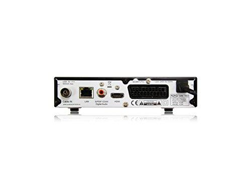 Xoro HRK 7660 SMART DVB-C HD Receiver (Alexa, Google Home, LAN, HDMI, USB 2.0, PVR) black & HWL 155N WLAN USB Antenne für Xoro SMART Receiver/Windows 10 / Linux/Raspberry Pi, Schwarz