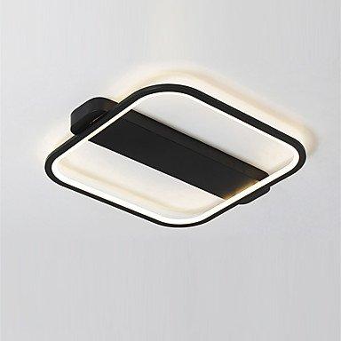 Carré 24 w style moderne simplicité conduit plafonnier encastré salon chambre enfants chambre lumière, warm white
