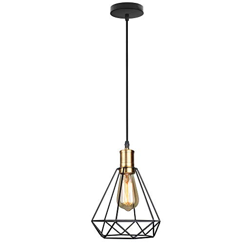 GYZLZZB Nordic Modern Hanging Lampada a sospensione retrò Low Key Pendant Light Altezza regolabile E27 Iron Chandelier Noble Sospensione Lampada decorativa Lampada decorativa adatta per sala da tè Por