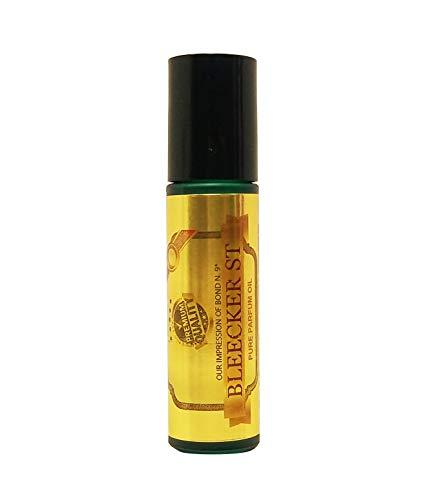 Perfume Studio Oil IMPRESSION of Bond 9 Bleecker Street; 10ml Roll On Glass Bottle, 100% Pure Undiluted, No Alcohol Parfum (Premium Quality Fragrance Version)