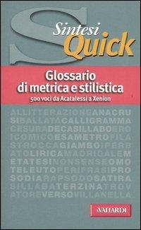 Glossario Di Metrica E Stilistica
