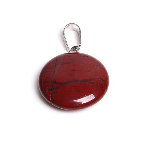 Natural 1pcs redondas de piedra natural colgantes de cuarzo redonda tono colgantes de cristal de joyería de piedras hechas a mano al por mayor colgante de ágata regalo druzy accesorio de la jo
