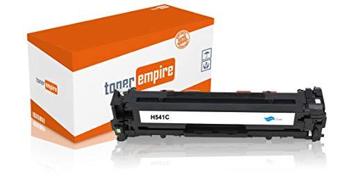 Toner-Empire Premium tonercartridge compatibel met HP CB540A CB541A CB542A CB543A / 125A, printer cartridge voor laserprinter Cyan - C