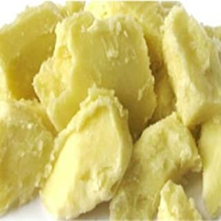 Yellow Brick Road 100% Raw Unrefined Shea Butter-African Grade a Yellow 2 Pound (32oz)