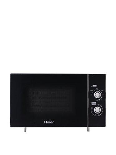 Haier HSA 2280 MGB Encimera 22L 800W Negro - Microondas (