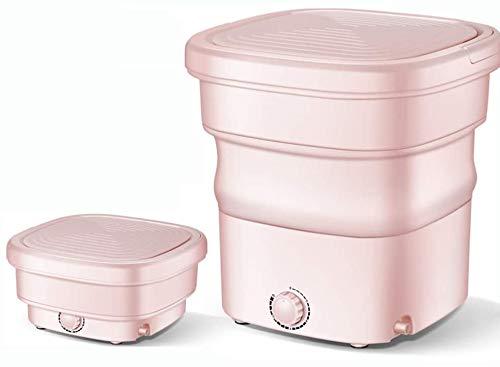 Mini macchina portatile, piegatrice con strizzatore, disinfezione ozono, piccoli elettrodomestici semiautomatiche,rosa