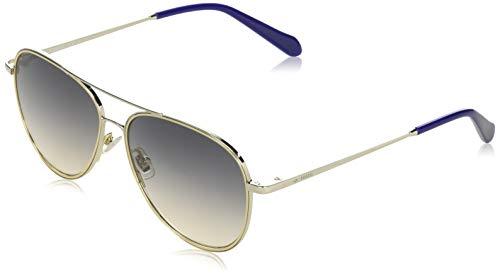 Fossil FOS 2096/G/S gafas de sol, PALLADGOL, 57 para Mujer
