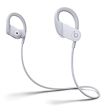Powerbeats High-Performance Wireless Earbuds - Apple H1 Headphone Chip Class 1 Bluetooth Headphones 15 Hours of Listening Time Sweat Resistant Built-in Microphone - White