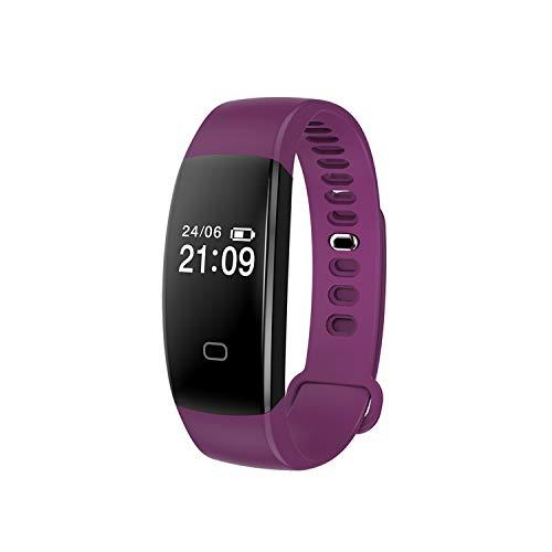 HQHOME Fitness Armband mit Pulsmesser, Fitness Tracker Smartwatch Wasserdicht IP67 Aktivitätstracker Schrittzähler Uhr Damen Herren Farbbildschirm SMS für iPhone Android Handy