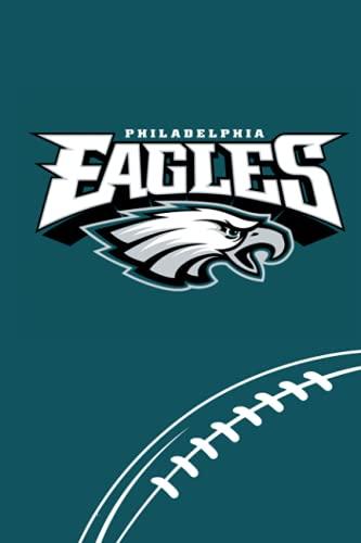 Philadelphia Eagles: Philadelphia Eagles Notebook & Journal & Composition Book & Logbook College Ruled 6x9 110 page | NFL Fan Essential | Football Fan Appreciation