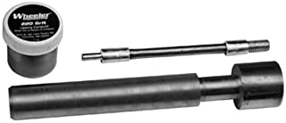 Wheeler Rifle Variant Receiver Lapping Tool for Gunsmithing Cleaning Rebuild and Maintenance