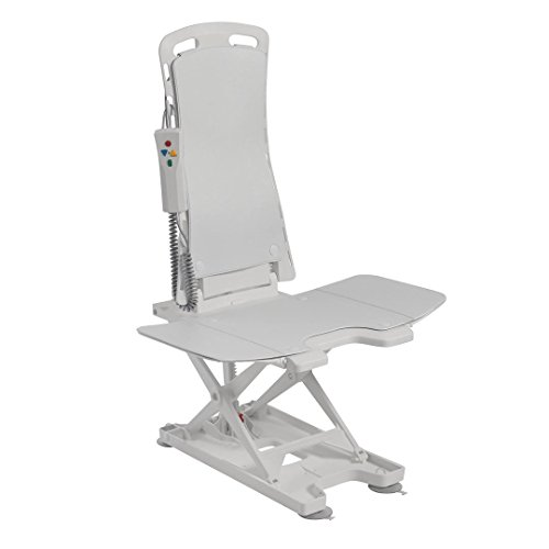 Drive Bellavita Lightweight Reclining Bath Lift with Covers, White