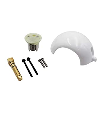 nipponAsia 385318162 911-Series Ball Shaft Cartridge Kit Replacement Parts, Compatible with All Foot Flush Sealand/Dometic Marine Toilets ?Except for The EcoVac and 5000 Series?