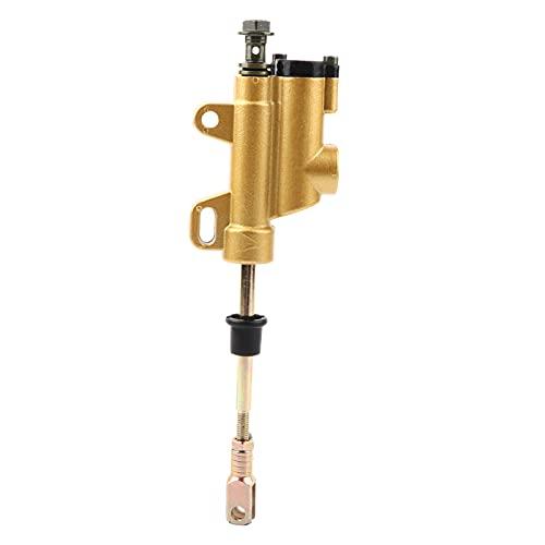 Maestro de freno hidráulico trasero, cilindro de aleación de acero de 10 mm / 0,4 pulgadas apto para PIT PRO TRAIL Dirt Quad Bike