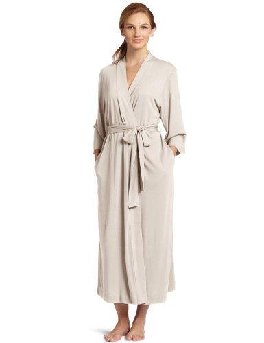 Natori Women's Shangri-la Solid Knit Robe, Cashmere, Large
