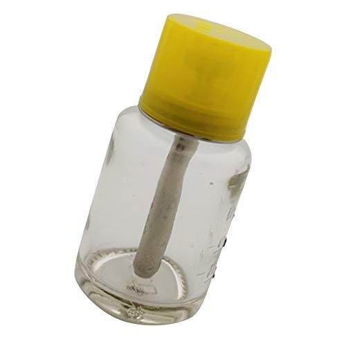 SM SunniMix 80ml Flacon Liquide vide Bouteille Distributeur Liquide pour Vernis à Ongles Produit Nettoyant, Manucure et Dissolvant