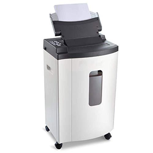 Knoijijuo Déchiqueteuse, PC de Bureau File Shredder, ménage déchiqueteuses Silencieux, Grand Automatique Shredder Shredder (Taille: 37x32.2x72.3cm)