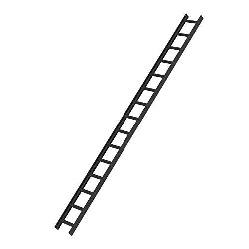 Dachleiter, 15 Sprossen, Anthrazit-grau Leiternaußenbreite 330 mm