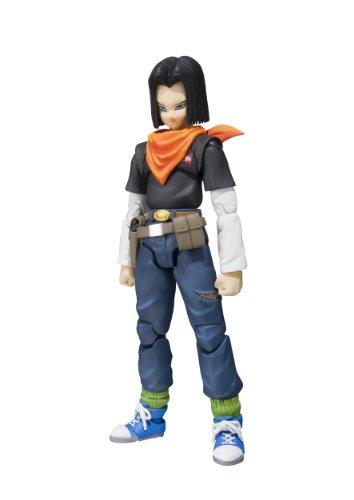 "Bandai Tamashii Nations S.H. Figuarts Android 17 ""Dragon Ball Z Action Figure -  Bluefin Distribution Toys, BAN89612"