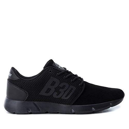 Zapatillas Hombre Color Negro b3d