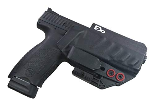 FDO Industries (Formerly Fierce Defender IWB Holster CZ P10c w/Tuckable Clip and Claw -The Uninfringed Series -Made in USA- (Black)