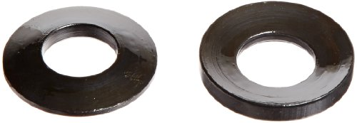 TE-CO 42705 12L14 Steel Spherical Washer, Black Oxide Finish, Male & Female Assembly, 3/4