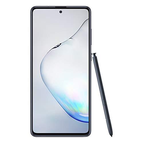 Samsung Galaxy Note10 Lite Mobile Phone; Sim Free Smartphone - Aura Black (UK version)