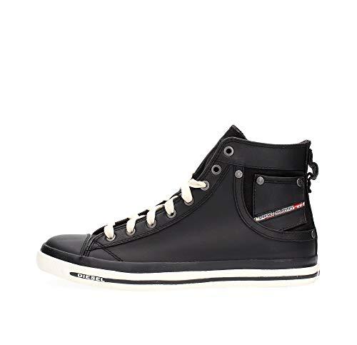 Diesel Herren MAGNETE EXPOSURE I-sneaker High-Top, Schwarz T8013, 41 EU