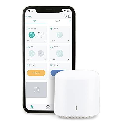 アイリスオーヤマ スマートリモコン SMT-RC1 Alexa/Google Home/Siri対応