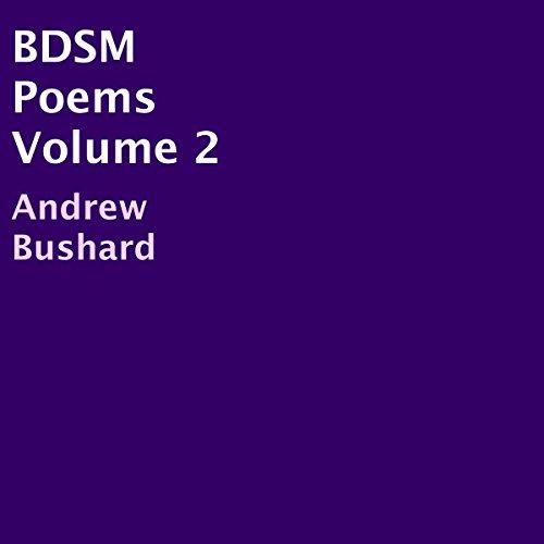 BDSM Poems, Volume 2 audiobook cover art