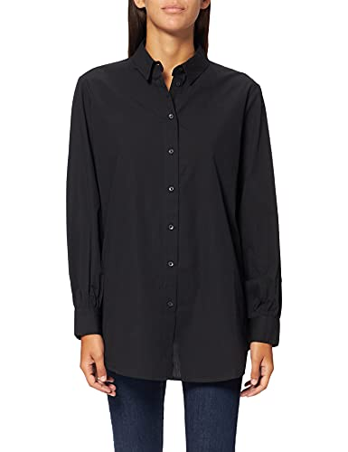 Only ONLNORA New L/S Shirt WVN Noos Blusas, Negro, L para Mujer